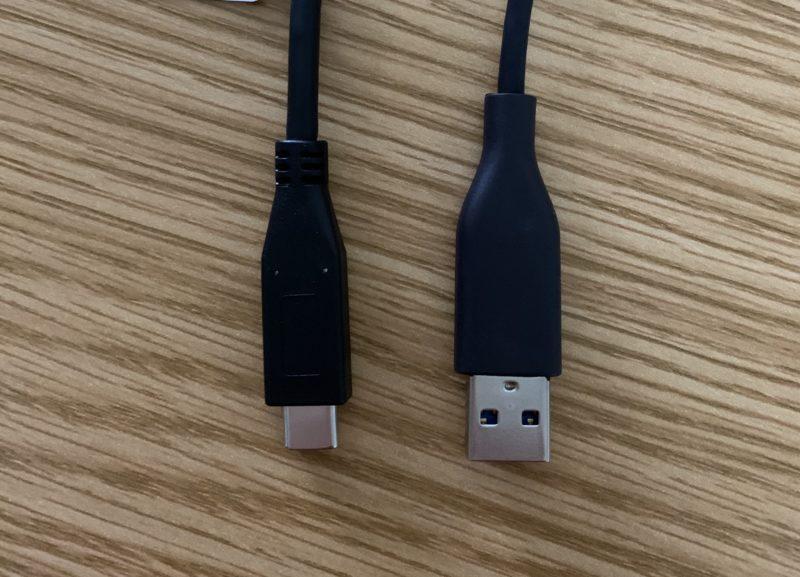 USB-CとUSB-A