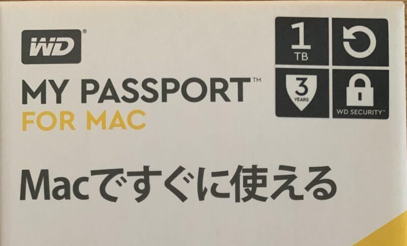 MY PASSPORT FOR MAC